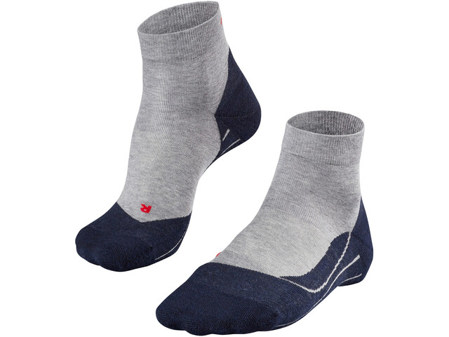 Falke RU4 Short Running Socks Herren light grey